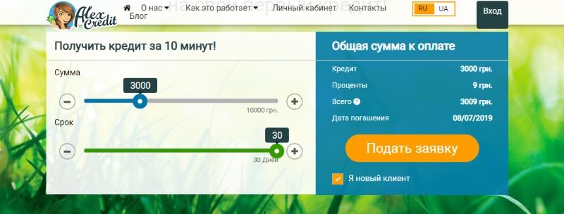 Алекс Кредит