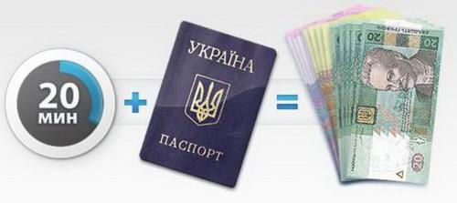 Кредит за паспортом